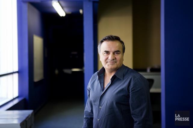 Passionné d'informatique, Babak Varjavandi a fondéNakisadans les années... (PHOTO MARCO CAMPANOZZI, LA PRESSE)