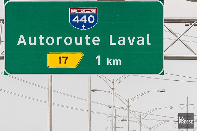 Le chantier le plus encombrant à Laval s'installera... (PHOTO OLIVIER PONTBRIAND, ARCHIVES LA PRESSE)