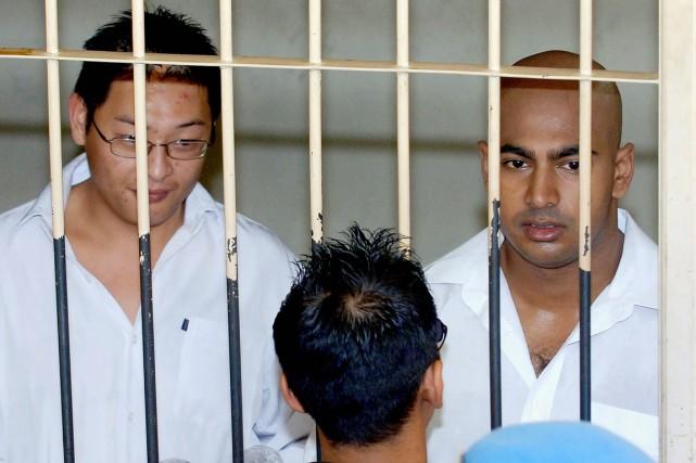 Le gouvernement australien et les avocats d'Andrew Chan... (PHOTO JEWEL SAMAD, ARCHIVES AFP)