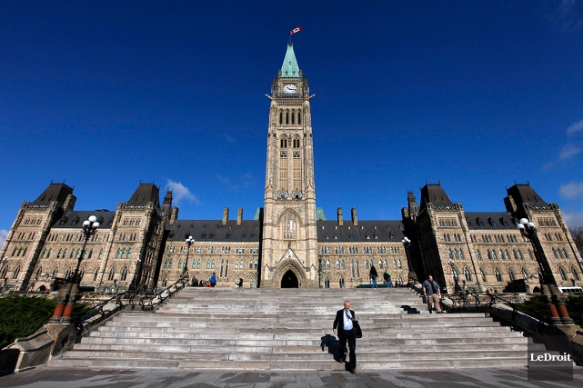 Le Parlement canadien, à Ottawa.... (PHOTO SIMON SÉGUIN-BERTRAND, ARCHIVES LE DROIT)