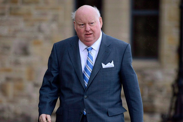 Mike Duffy, photographié en 2013.... (PHOTO ADRIAN WYLD, ARCHIVES LA PRESSE CANADIENNE)