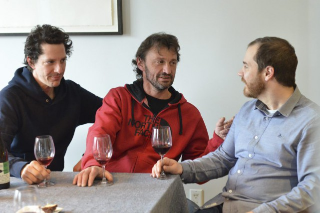 Martin Labelle, Olivier Lemasson et Jérôme Dupras collaborent... (PHOTO FOURNIE PAR ORIGINAL)