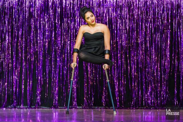 Les artistes de Cirque Prom ont chacun un... (Photo Édouard Plante-Fréchette, La Presse)