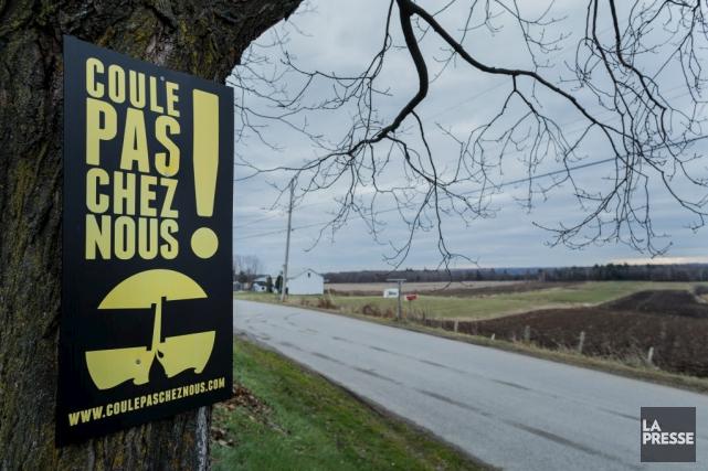 Le mouvement d'opposition au projet d'oléoduc Énergie Est... (Photothèque La Presse)