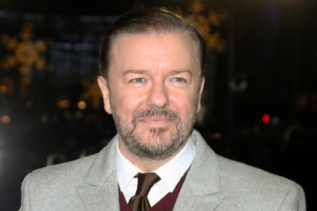 Ricky Gervais... (PHOTO ARCHIVES AP)