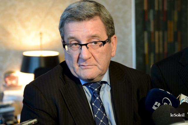 Le maire de Québec Régis Labeaume... (Photothèque Le Soleil, Erick Labbé)