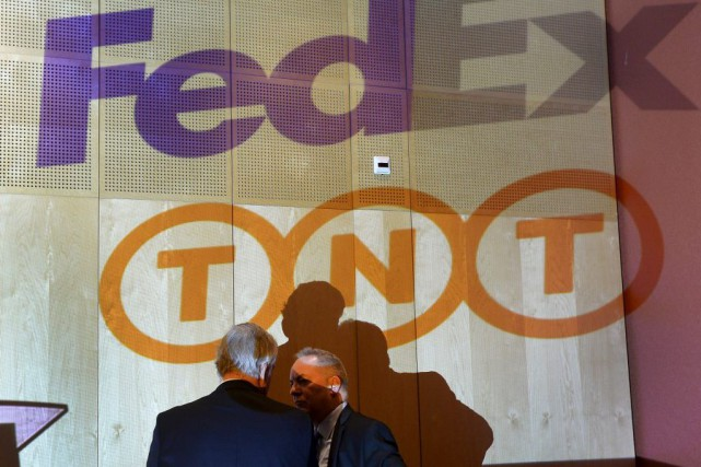 L'addition de TNT Express à FedEx permettra à... (Photo Reuters)