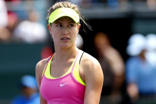Eugenie Bouchard n'a guère été convaincante lors des... (Photo Ella Ling, fournie par le circuit WTA)