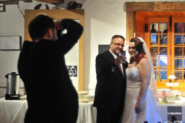 Aucun détail ne manquait lors du mariage organisé... (Photo: Émilie O'Connor, Le Nouvelliste)