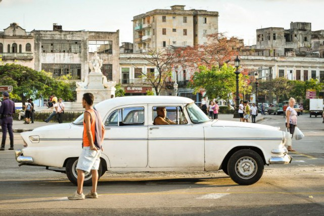 L'embargo maintenu contre l'île depuis 1962 interdit aux... (PHOTO ADALBERTO ROQUE, AFP)