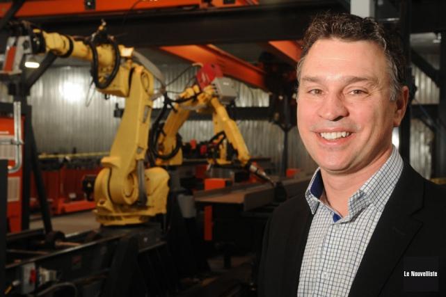 Éric Bélanger, président d'AGT.... (Photo: François Gervais, Le Nouvelliste)