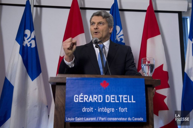 Gérard Deltell... (PHOTO JACQUES BOISSINOT, LA PRESSE CANADIENNE)