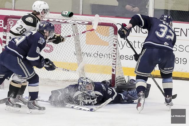 Selon les Islanders de Charlottetown, les joueurs du Phoenix n'ont pas à avoir... (Imacom, Jocelyn Riendeau)