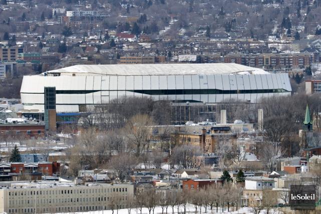 Le Centre Vidéotron à Québec.... (PHOTO JEAN-MARIE VILLENEUVE, ARCHIVES LE SOLEIL)