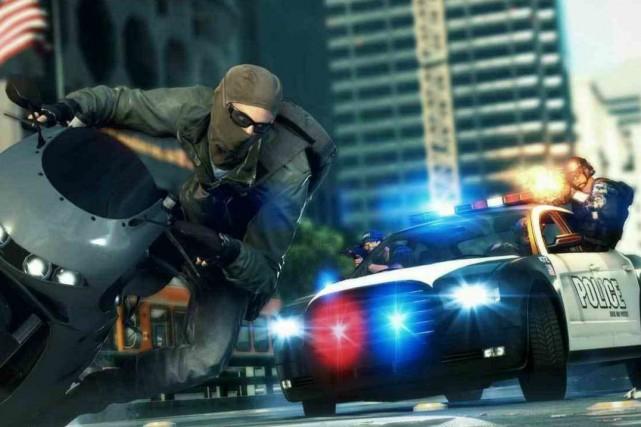 Le jeu Battlefield Hardline conçu parVisceral Games....