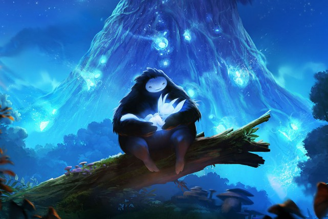 Ori and the Blind Forest conçcu par Moon Studio...