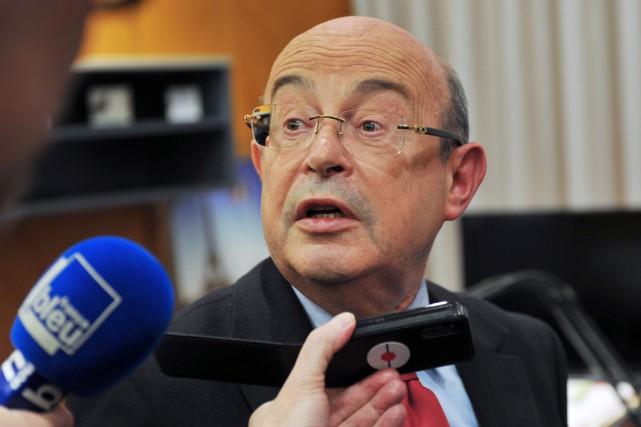 Jean Germain était accusé de «complicité de prise... (PHOTO GUILLAUME SOUVANT, ARCHIVES AFP)