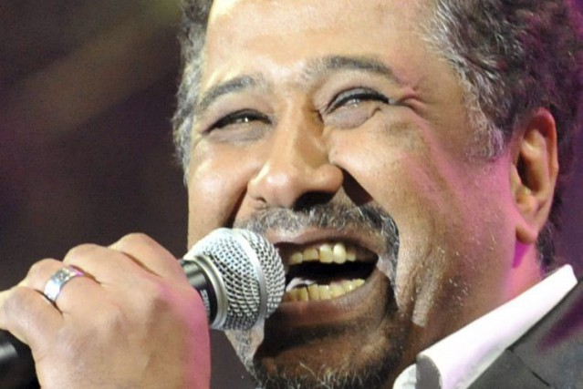 Cheb Khaled en spectacle à Rabat en 2012.... (Photo: archives AFP)