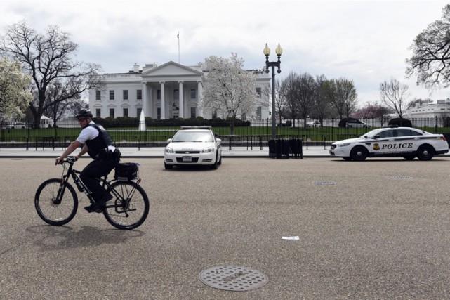 À la Maison-Blanche les lumières se sont éteintes... (Photo: AP)