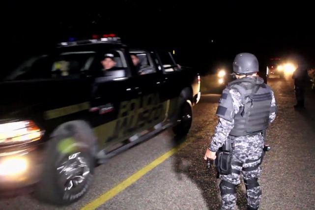 Quinze policiers de l'État du Jalisco ont été... (Photo: AFP)