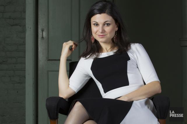 Dans Les chroniques de Saint-Léonard, Émilie Bibeau prête... (photo La Presse)