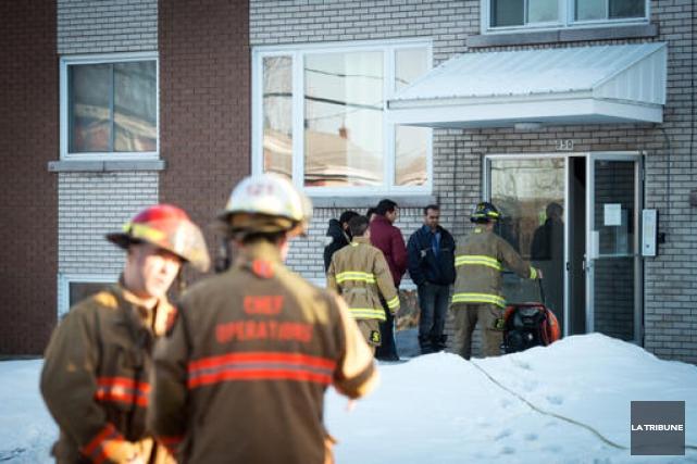 Un incendie qui a pris naissance sur unecuisinièredans un logement du 850 de... (Imacom, Jessica Garneau)