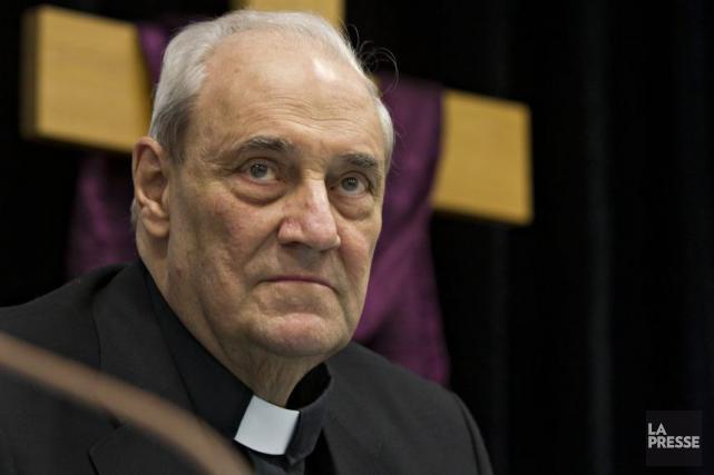 Interrogé sur la possibilité que le cardinal Marc... (Photothèque La Presse)