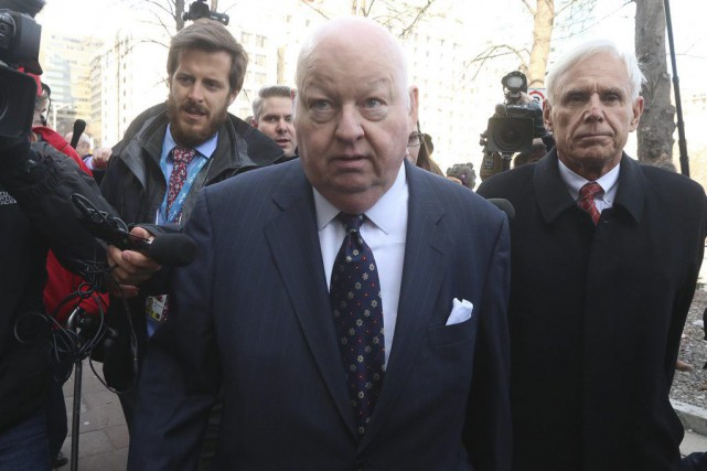 Mike Duffy a plaidé non coupable aux 31... (Étienne Ranger, LeDroit)