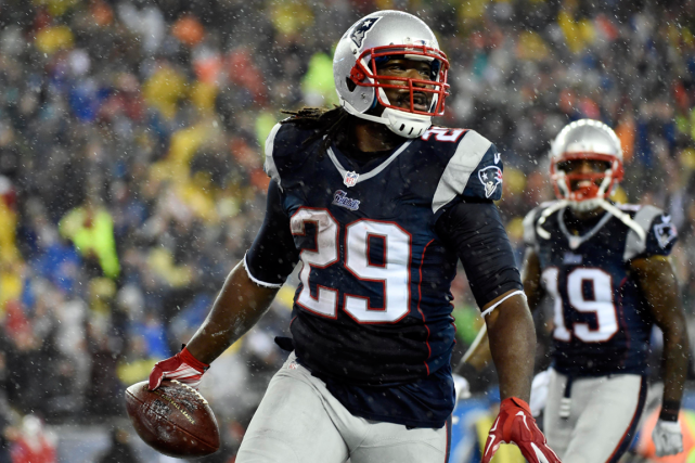 LeGarrette Blount (29)... (Photo Robert Deutsch, archives USA Today)