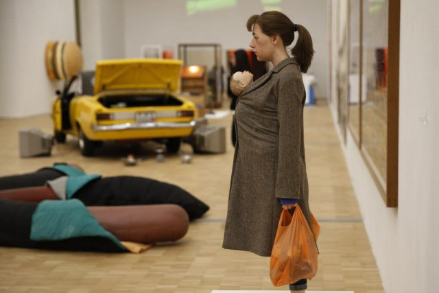 Une oeuvre de Ron Mueck, à l'expo Arts... (Photo Luca Bruno, AP)