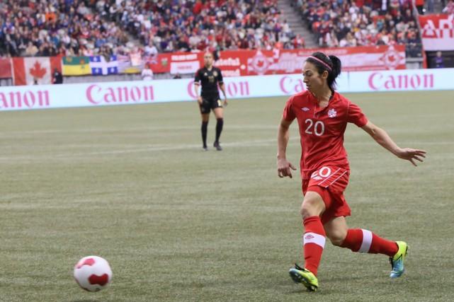 La Trifluvienne Marie-Ève Nault représentera le Canada à... (Photo: Soccer Canada)