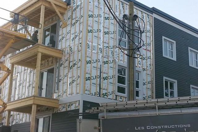 Le projet de développement communautaire Home Horizon Mégantic avance à grands... (Photo tirée de Facebook)