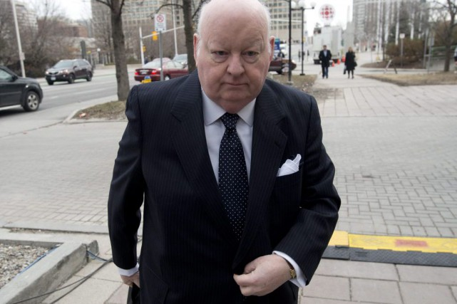 Mike Duffy... (PHOTO ADRIAN WYLD, LA PRESSE CANADIENNE)
