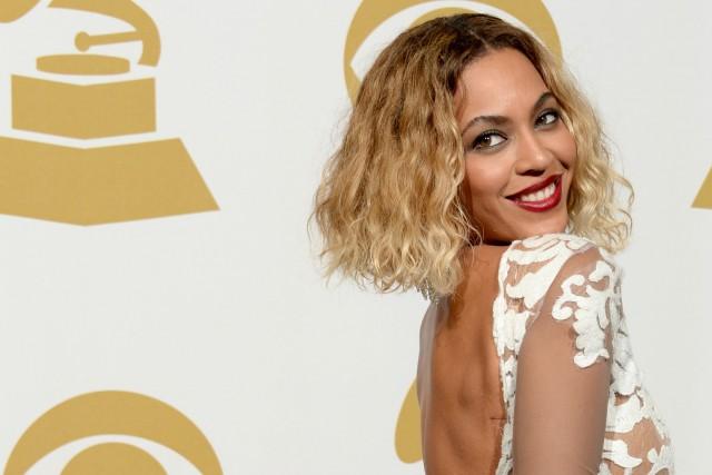 La chanteuse Beyoncé, à son arrivée à la...