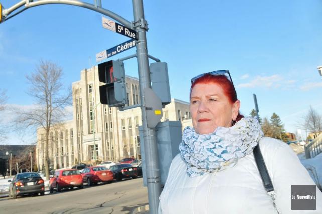 Porte-parole du regroupement Shawinigan citoyens avertis, Diane Borgia... (Photo: Émilie O'Connor, Le Nouvelliste)