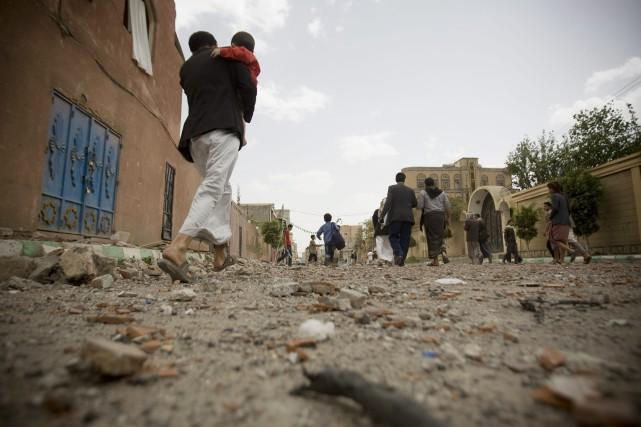 Selon l'OMS, 15,9 millions de personnes sont touchées... (PHOTO HANI MOHAMMED, AP)