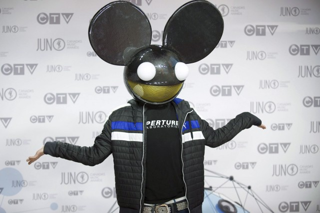 Deadmau5... (Photo: archives La Presse Canadienne)