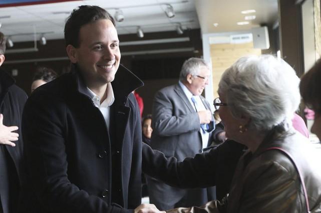 Alexandre Cloutier a effectué sapremière visite en Outaouais... (Étienne Ranger, LeDroit)