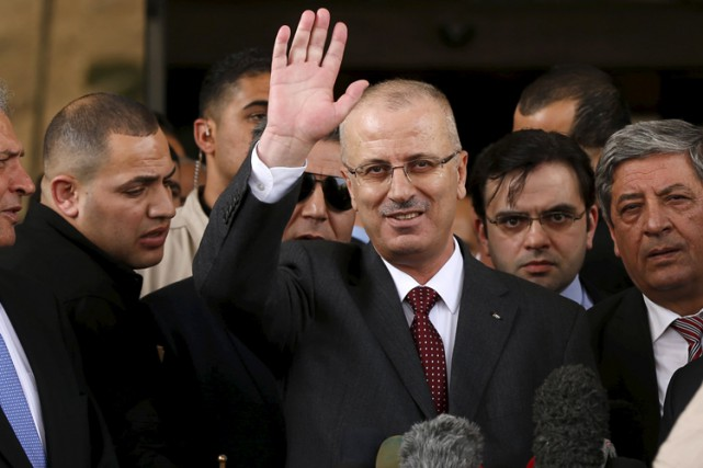 Le premier ministre palestinien Rami Hamdallah.... (Photo: Reuters)