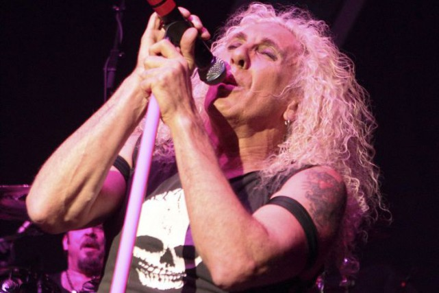 Dee Snider de Twisted Sister... (Photo: archives AP)
