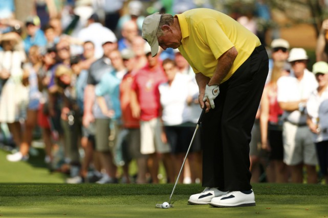 Jack Nicklaus... (Photo: Reuters)