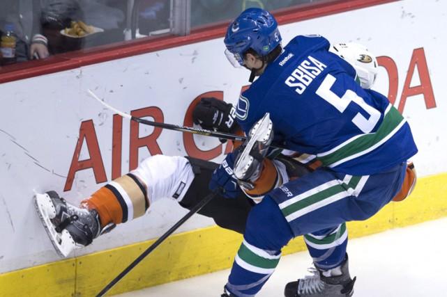 Les Canucks de Vancouver ont conclu des prolongations de contrat de quatre et... (Photo: AP)