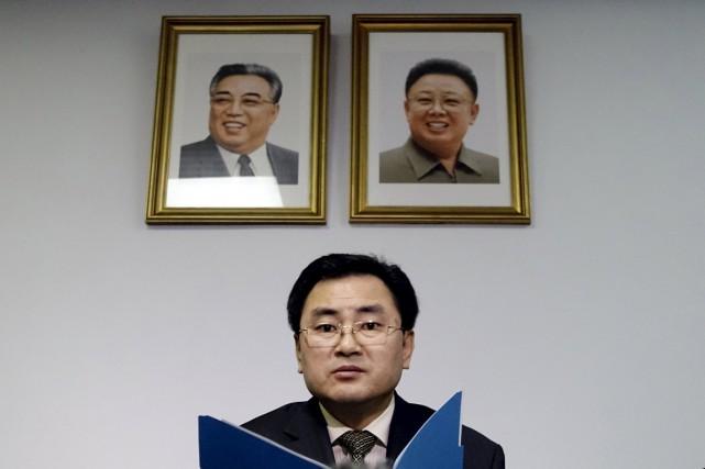 Le diplomate nord-coréen An Myong Huna souligné que... (Photo Reuters)