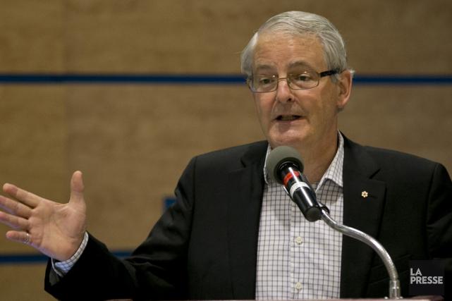 Le député libéral Marc Garneau a demandé au... (Photo archives La Presse)