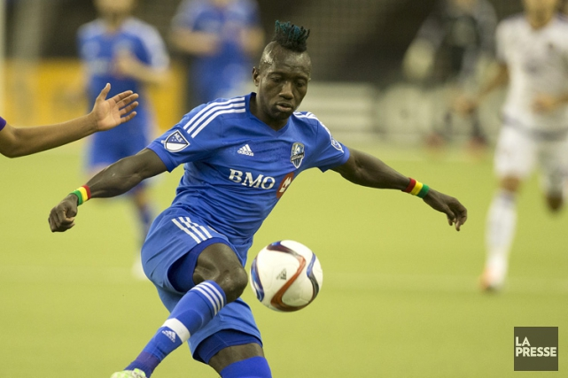 Dominic Oduro... (Photo: Robert Skinner, archives La Presse)