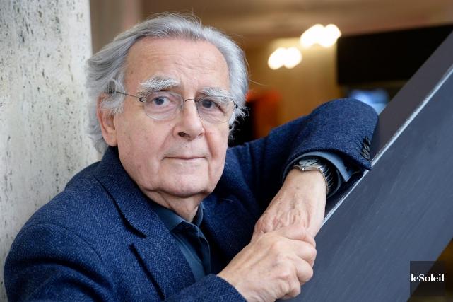 À presque 80 ans, Bernard Pivot écrit des... (Le Soleil, Jean-Marie Villeneuve)