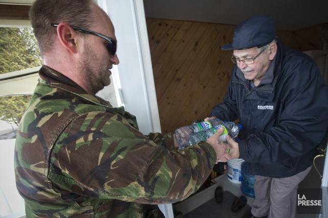La Garde citoyenne du Québec ne limite pas... (PHOTO PATRICK SANFAÇON, LA PRESSE)