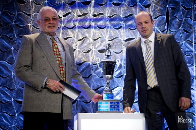 Martin Mondou a été nommé directeur-gérant de l'année... (Photo: La Presse)