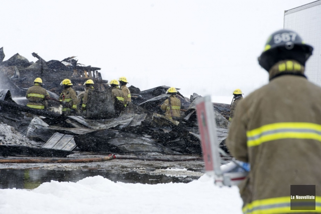 Les pompiers de Trois-Rivières, qui doivent répondre à... (Photo d'archives: Stéphane Lessard, Le Nouvelliste)