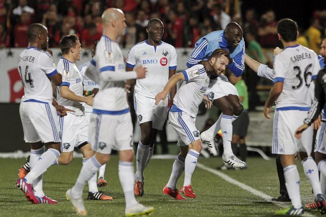L'Impact a accédé à la finale de Ligue... (Photo Juan Carlos Ulate, Reuters)